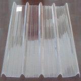 Blad van het Dakwerk van Glassfiber van de Glasvezel FRP GRP het Doorzichtige Golf