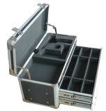 Cassa portatile stabile di alluminio della strumentazione