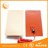 do calor 300X300 da base de China calefator de alumínio da borracha de silicone diretamente