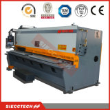 Máquina de corte da placa de metal de QC12y 6X32000 com sistema de controlo de Estun