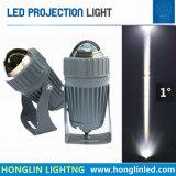 狭いビーム角ライト10W LEDフラッドライト