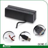 USB 3トラックMsrカード読取り装置のソフトウェアMsr100のタクシー運転手のライセンスを追跡するGPSのためのクレジットカードの読取装置装置2トラック