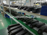 hl de la batterie au lithium de 14s4p Hailong 52V 14ah Downtube ont monté le paquet de requin du pack batterie 52V avec la conformité Un38.3