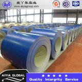 Bobina de aço galvanizada Prepainted com cor azul