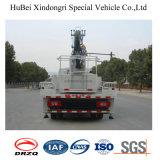 camion de plate-forme de travail aérien de 18m Foton avec la grue