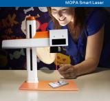 금속 가공에 휴대용 20W Mopa 섬유 Laser 표하기 기계