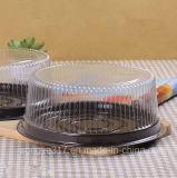 Caixa transparente redonda da bolha do bolo de 8 polegadas