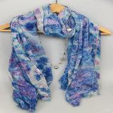 Размер 110*180cm шарфа, шарф маркизета женщин, шаль печатание для вспомогательного оборудования способа девушок