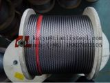 Câble de l'acier inoxydable 7*19