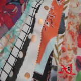Ткань печатание шифоновая для ткани полиэфира ткани одежды лета