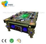 La máquina de juego de fichas de arcada de juego video del cazador lujoso de los pescados