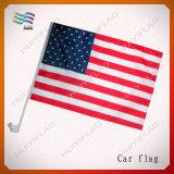 30*45cm 50cm Pole Silk Polyeater Auto-Markierungsfahnen für das Bekanntmachen des Plakats