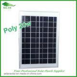 De kleine Module van de Zonnepanelen van de Macht 20W Photovoltaic Aangepaste Monocrystalline Zonne