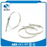 Fabricante sem revestimento de 316 cintas plásticas do aço inoxidável do metal