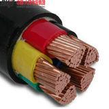 다핵 지하 케이블 PVC에 의하여 격리되는 전력 케이블