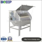 Piatto perforato/filtro a tamburo a maglia fine nell'impianto di per il trattamento dell'acqua