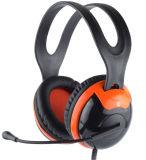Verdrahteter Stereocomputer-Kopfhörer mit gedrehtem Mikrofon (RMT-505-002)