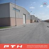 Almacén de la estructura de acero del palmo grande con talla y diseño modificados para requisitos particulares
