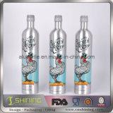 Botellas de vino de consumición de aluminio vacías de la bebida