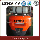 Tipo novo do Forklift da tonelada Gasoline/LPG do Forklift 4 do projeto de Ltma