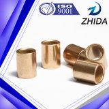 Buje de bronce sinterizado del bronce de la metalurgia de polvo