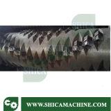 Большой пластичный шредер блока и шишки двойной и одиночный вала с дробилкой