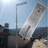 2016 1つの新しいデザイン6W-80W動きセンサーの統合された太陽街灯すべて