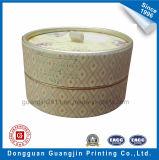 Cadre de empaquetage de forme de carton rigide cylindrique de papier