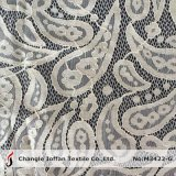 Tissu de lacet de cordon de Paisley de coton (M3422-G)
