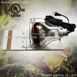 "60W 150W 200W 6.5 "" Terrarium Reptile Clamp Lamp com Wire Guard"