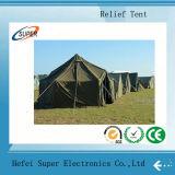 Bonnes tentes antipluies vertes de secours en cas de catastrophe