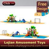 Speelplaats van de Kinderen van de Jonge geitjes van Ce de Concurrerende Standaard Openlucht (x1502-2)