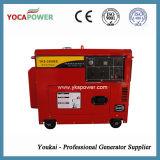 Gerador 3kVA diesel silencioso vermelho com ATS