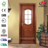 Дверь новой конструкции стеклянная деревянная