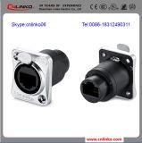 UTP CAT6 Ethernet-Stecker Netz-Steckermodularen Jack-RJ45