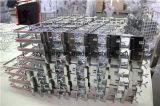 Sgs-Supermarkt-hängender Bildschirmanzeige-Zahnstangen-Metallhaken für Beutel