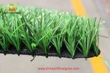 Het kunstmatige Tapijt van het Gras voor de Hoogte van het Voetbal en van de Voetbal