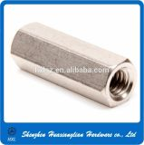Écrou à cordon long hexagonal DIN 6334 en acier inoxydable
