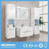 La luz LED caliente interruptor del tacto de alto brillo de pintura Espejo de baño Gabinete-B802D