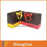Bolsa de papel al por mayor del regalo con el remache para la cuerda