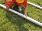 Im Freien wasserdichtes Belüftung-Deckel-einfaches hohes Stern-Zelt mit Firmenzeichen-Drucken