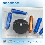 Подгонянный изготовлением постоянный магнитный магнит феррита агрегата