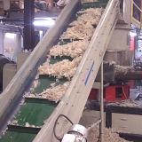 Plastique de rebut écrasé d'éclailles de film réutilisant la machine Aggromerator 90kw