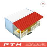 Norm-Behälter-Haus mit Schlafzimmer, Badezimmer und Küche