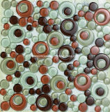 Core Round (T 1825年)の豪華なDesign Glass Mosaic Tile