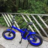 E-Bicicleta gorda do pneumático de 20inch 48V/20.4ah