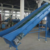 500kg PE pp die van de Wasmachine van de Vlokken van het Huisdier van het roestvrij staal Lijn recycleren