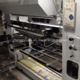 Máquina tres Motor de 8 colores de impresión de huecograbado