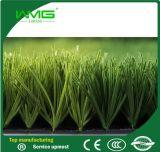 hierba sintetizada del diamante de 60m m para el campo de fútbol