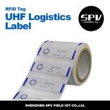 Extranjero H3 9662 de la etiqueta engomada del cartón de la logística de la frecuencia ultraelevada de RFID